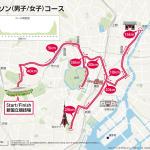 東京オリンピックのマラソン コース:2020と1964