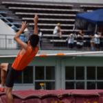走り高跳びの助走のコツと跳躍のタイミングをはかるポイント