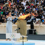 東京オリンピック聖火リレーのスタート - 2020年3月12日に聖火を採火